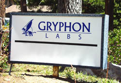 Gryphon Labs Sign